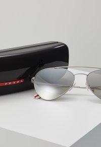 Prada Linea Rossa - Sunglasses - silver-coloured - 3