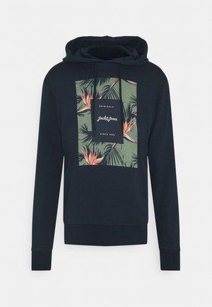 JORFLORAL - Hoodie - navy blazer