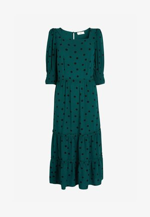 TIERED - Day dress - green