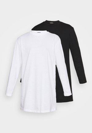 BASIC DRESS 2 PACK - Jersey dress - black