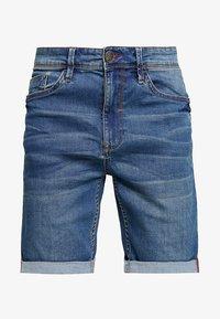 Blend - Shorts di jeans - denim middle blue - 5