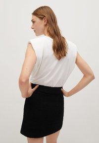 Mango - HARRIET - Mini skirts  - zwart - 2