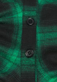 Missguided Petite - RUCHED DETAIL CHECK  - Košile - green - 2