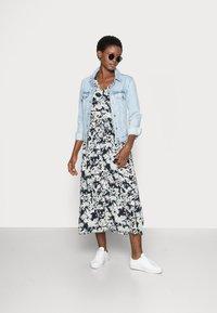 Moss Copenhagen - THESSA JALINA DRESS - Maxi dress - cap blur - 1