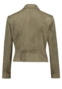 Betty Barclay - Faux leather jacket - olive - 4