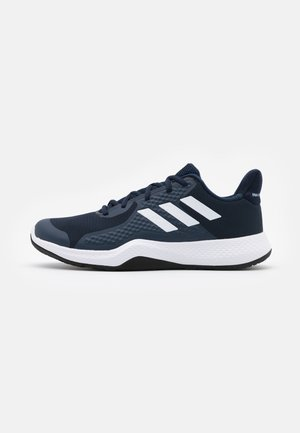 FITBOUNCE VERSATILITY BOUNCE TRAINING SHOES - Kuntoilukengät - collegiate navy/footwear white/sky tint