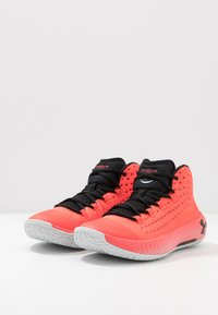 Under Armour - Basketball shoes - beta/halo gray/black - 2