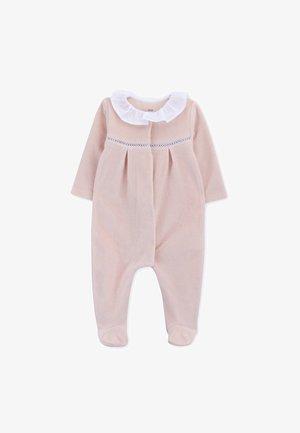 BABYGROW NEWBORN VELVET DUSK - Body - peony pink