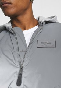 Alpha Industries - HOOD REFLECTIVE - Bomber Jacket - silver - 6
