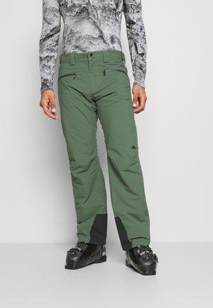 TRUULI SKI PANT - Snow pants - thyme green
