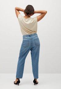 Violeta by Mango - MARINA - Straight leg jeans - mellemblå - 2