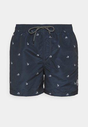 JJIBALI JJSWIMSHORTS SAILOR - Swimming shorts - navy blazer