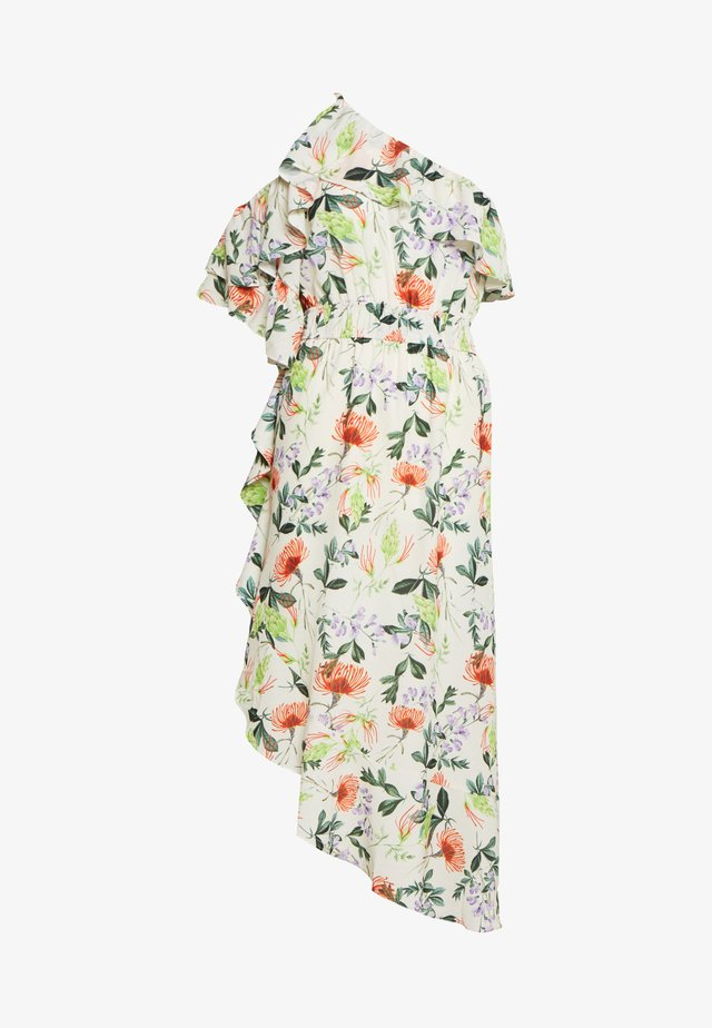 ONE SHOULDER PRINTED - Robe d'été - multi