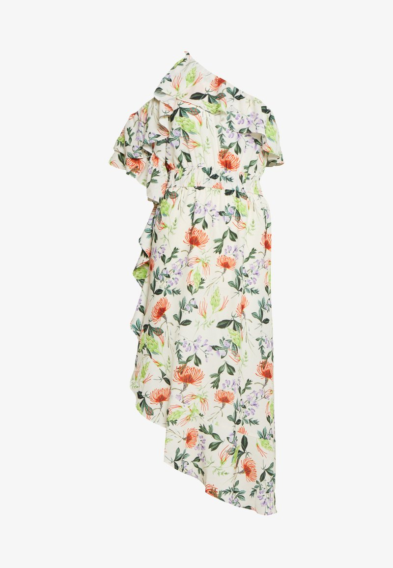 Lost Ink - ONE SHOULDER PRINTED - Robe d'été - multi