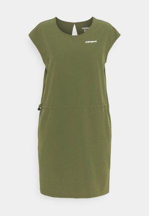 BOTHEL - Denní šaty - dark olive