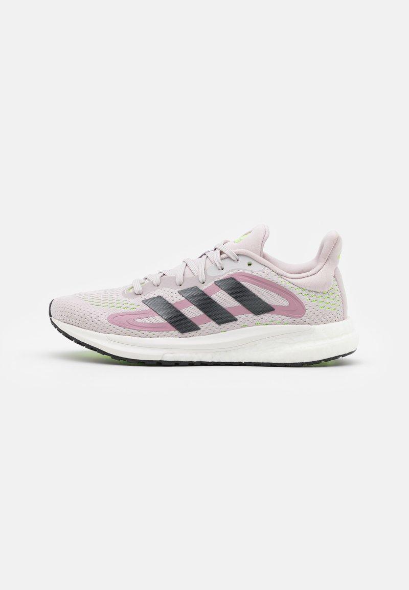 adidas Performance - SOLAR GLIDE 4 - Hardloopschoenen neutraal - ice purple/grey five/signal green