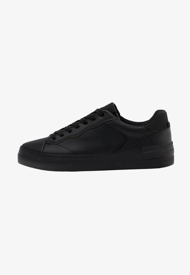 MIT STEPPNÄHTEN  - Sneakers basse - black