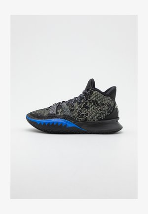 KYRIE 7 - Basketball shoes - black/lime ice/total orange