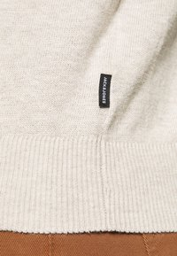 Jack & Jones - JJEEMIL ROLL NECK - Jumper - oatmeal melange - 5