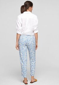 s.Oliver - Trousers - blue lagoon aop - 2
