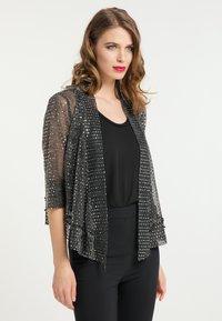 faina - Summer jacket - schwarz silber - 0