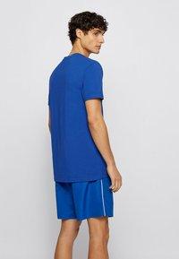 BOSS - RN - T-shirt imprimé - blue - 1