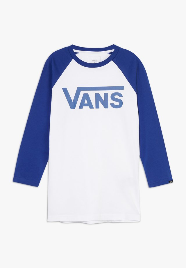 CLASSIC RAGLAN BOYS - Long sleeved top - white sodalite blue