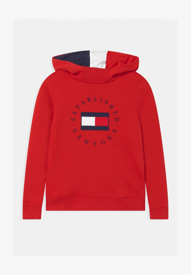 Tommy Hilfiger - HERITAGE HOODIE - Mikina s kapucí - red