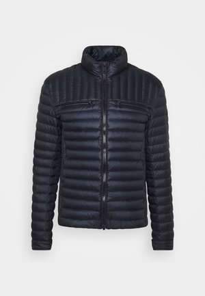 MENS JACKET - Piumino - navy blue/coffee