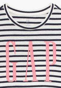 GAP - TODDLER GIRL LOGO  - T-shirt print - navy - 3