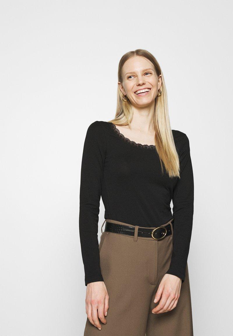 Anna Field - Maglietta a manica lunga - black