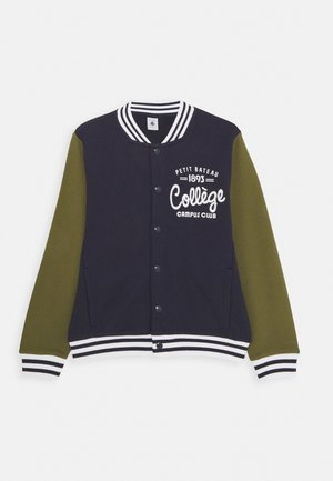 LUBEN TEDDY - Bomber Jacket - smoking/military