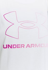 Under Armour - SPORTSTYLE GRAPHIC TANK - Funktionsshirt - white - 4