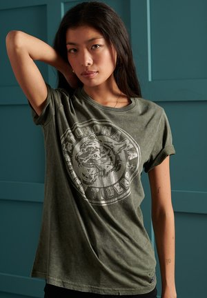 T-shirt imprimé - army khaki