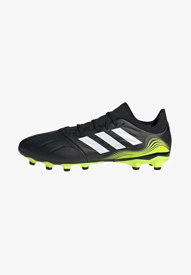 Voetbalschoenen met kunststof noppen - black