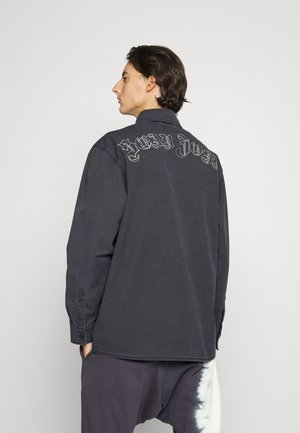 SCRIPT LOGO SHIRT - Overhemd - black