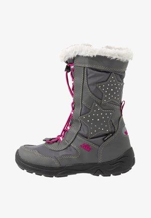 CATHRIN - Zimní obuv - grau/pink
