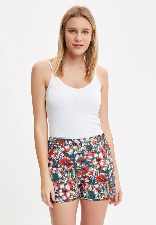 Shorts da mare - turquoise