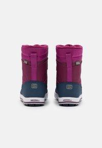 Merrell - SNOW BANK 2.0 WTRPF UNISEX - Winter boots - berry - 2
