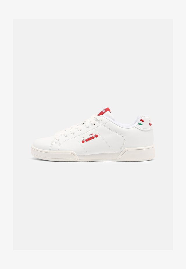 IMPULSE I UNISEX - Sneakers - white/molten lava