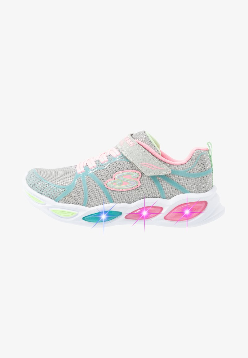 Skechers - SHIMMER BEAMS - Trainers - grey sparkle/multicolor