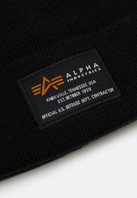 Alpha Industries - CREW BEANIE - Beanie - black - 2