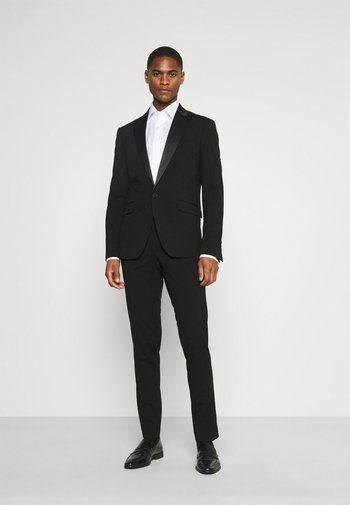 STRETCH TUXEDO SUIT - Oblek - black