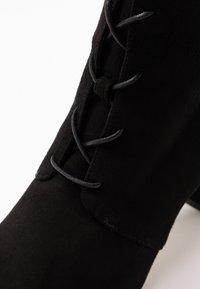 LK Bennett - LIRA - Šněrovací kotníkové boty - black - 2
