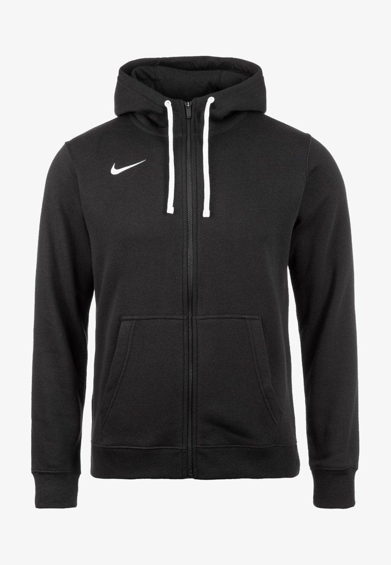 Nike Performance - CLUB19 HERREN - Sudadera con cremallera - black / white