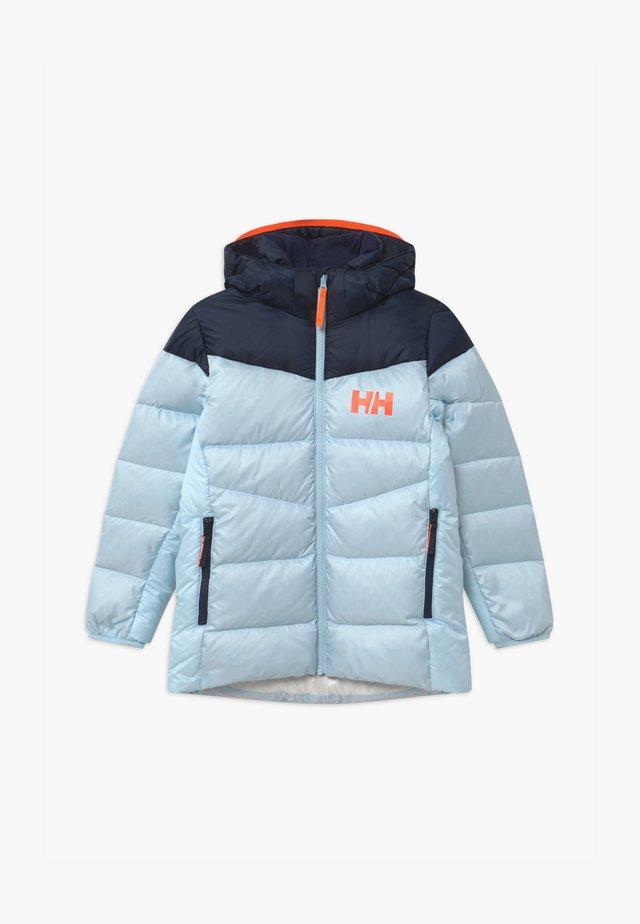 JORD UNISEX - Down jacket - ice blue