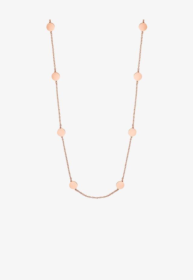 Collana - rose goldfarbend