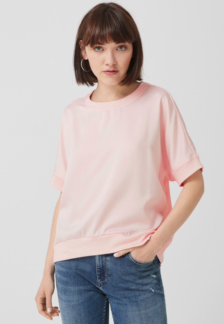 Q/S designed by - Basic T-shirt - light pink