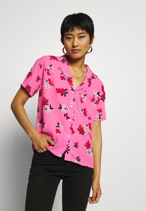 HAWAIIAN - Button-down blouse - blossom pink