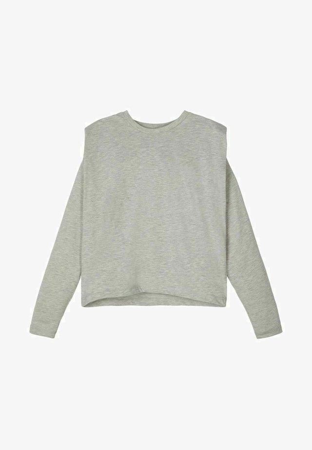 Pitkähihainen paita - light grey melange